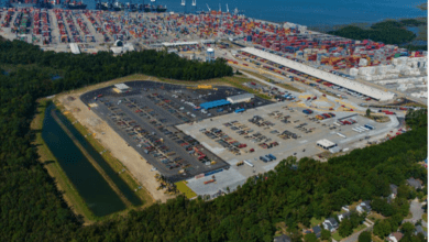 Photo of Charleston port moves chassis off terminal to boost truck fluidity
