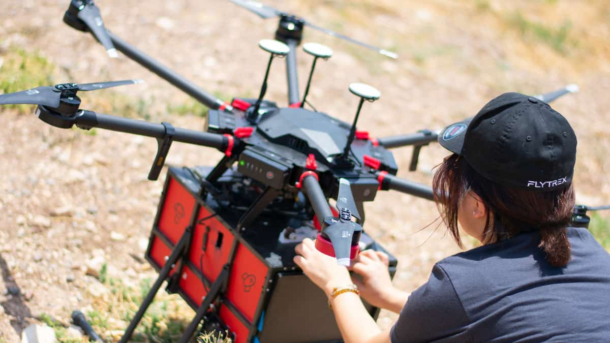 Drones will land ecommerce deliveries in your backyard soon (Photo: Flytrex)