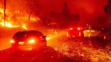 Photo of HOS regulations lifted, clearing road for wildfire relief