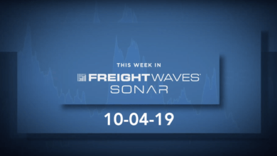Photo of FreightWaves introduces new Tender Volume, Air Cargo and Weather data into SONAR