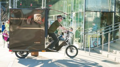 Photo of UPS, Portland team up on electric-assist trike delivery