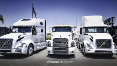 Photo of Class 8 truck orders rebound in October