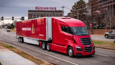 Photo of Nikola, BYD team up on emissions-free beer run