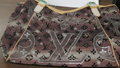 Counterfeit Louis Vuitton handbag caught by U.S. Customs (Photo: U.S. Customs and Border Protection)
