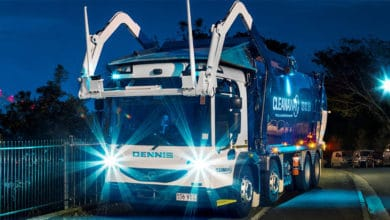 Photo of DOWN UNDER TRUCKING: garbage trucks go electric