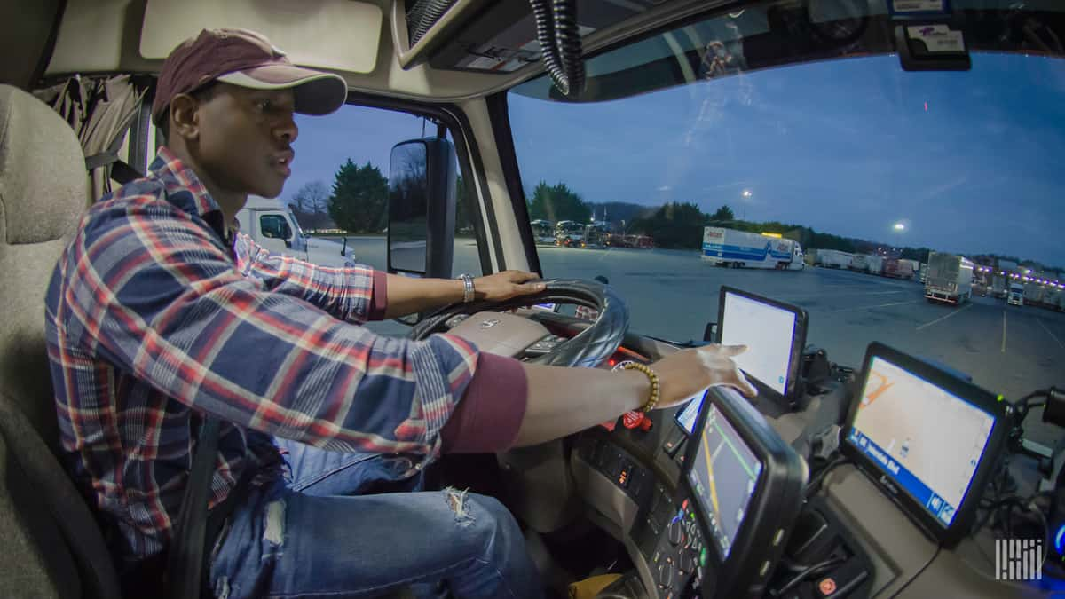 Drivers pay attention to their current load. But they also think about their next load.
