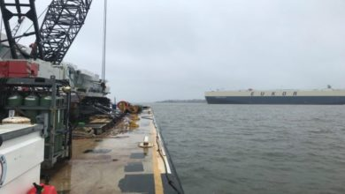 Photo of Port of Brunswick open 24 hours to commercial vessels