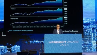Photo of Bloomberg analyst discusses trucking, China and Trump at FreightWaves LIVE Chicago (with video)