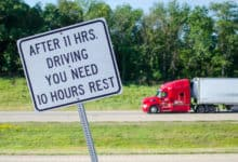 TruckPark mission eases driver parking uncertainty (Photo: Jim Allen/FreightWaves)