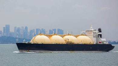 Photo of A massive floating LNG stockpile has just been unloaded