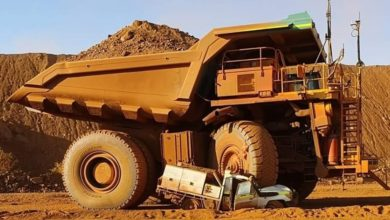 Photo of DOWN UNDER TRUCKING: mining truck smash; opioid truckers; tax hikes; DHL carbon neutrality