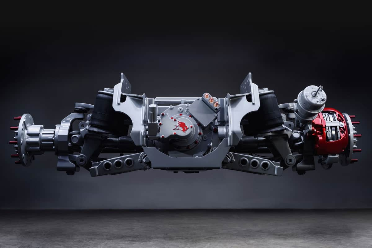 Image result for Meritor e-axle