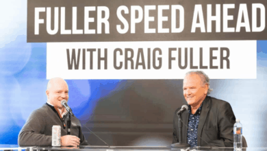 Photo of Lane Kidd, trucking safety advocate, jumps into Fuller Speed Ahead [podcast] at #FWLive