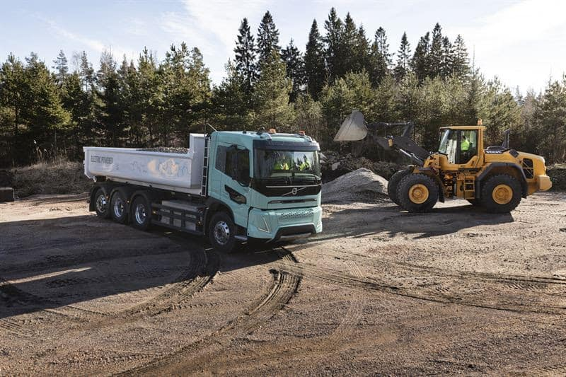 Volvo Electric Construction Concepts