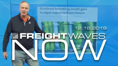 Photo of FreightWaves NOW: Spot Rates Jump as Tender Rejections Heighten