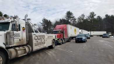 Photo of Maine State Police seize multiple trucks for $75,000 in unpaid tolls