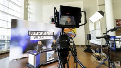 "On the set of ""Fuller Speed Ahead"" at FreightWavesLIVE in Chicago, Illinois on November 12-13."