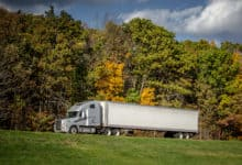 Trucking in the fall