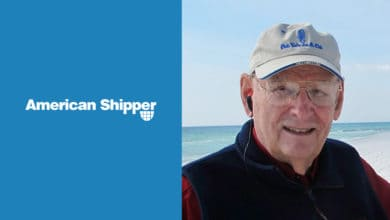 Photo of American Shipper founder brought shippers and container carriers together (with video)