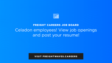 Photo of FreightWaves creates free job board to help impacted Celadon employees (with video)