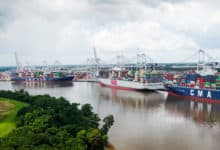 Ships calling on the Port of Savannah