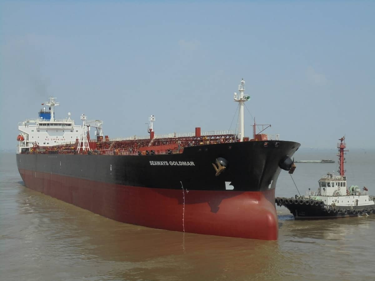 INSW-owned tanker Seaways Goldmar
