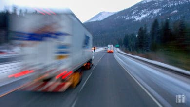 Photo of Swift confirms driver leader instructed truckers to drive in inclement weather