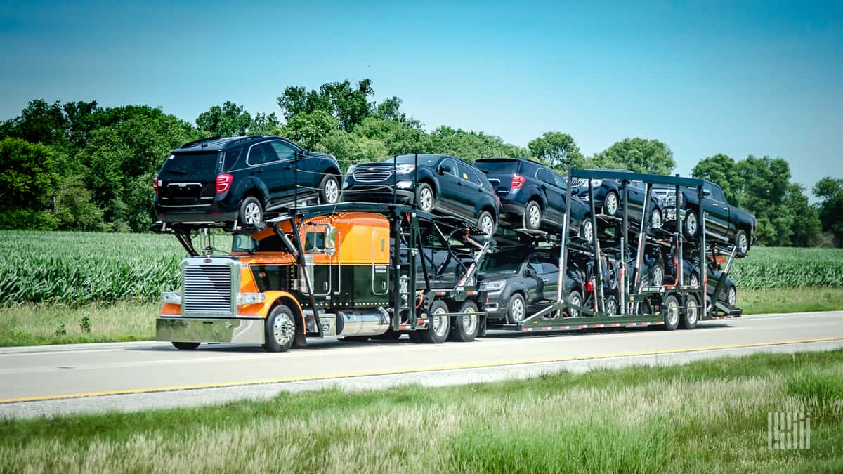 Stricter USMCA regulations might increase auto prices in the U.S. (Photo: Jim Allen/FreightWaves)