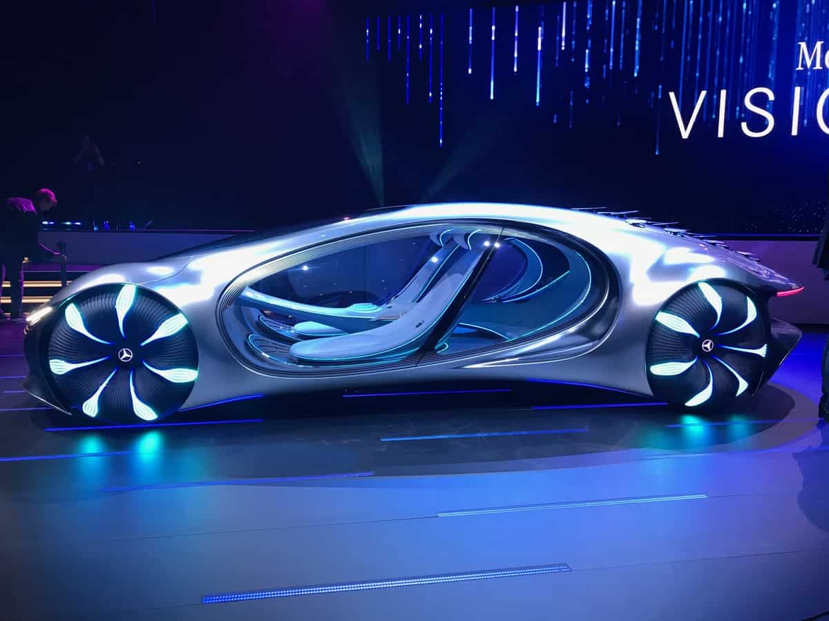 Mercedes-Benz Avatar-inspired concept