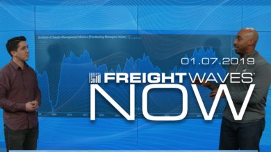 Photo of FreightWaves NOW: Higher Volumes Than Last Year