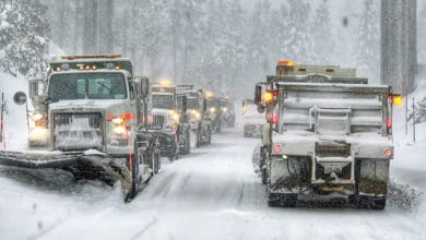 Photo of Snowstorms this week to cause more trouble for Northwest truckers (with forecast video)