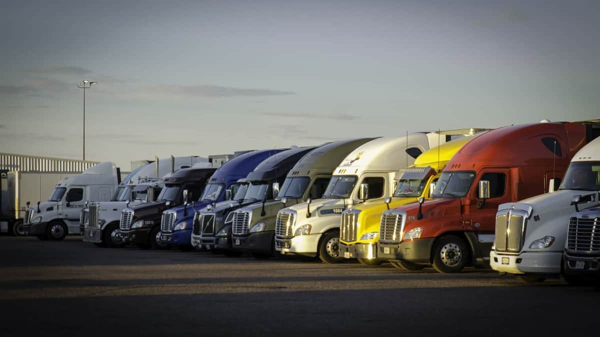 Safe and secure parking lots are the need of the hour (Photo: Jim Allen/FreightWaves)