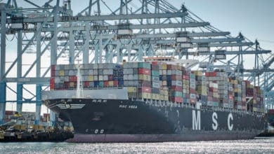 Containership MSC Vega