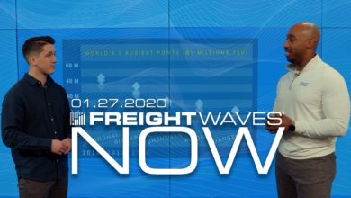 Photo of FreightWaves NOW: Impacts of the Coronavirus on Global Shipping