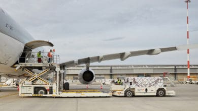 Photo of Swissport opening its first Australian air cargo terminal