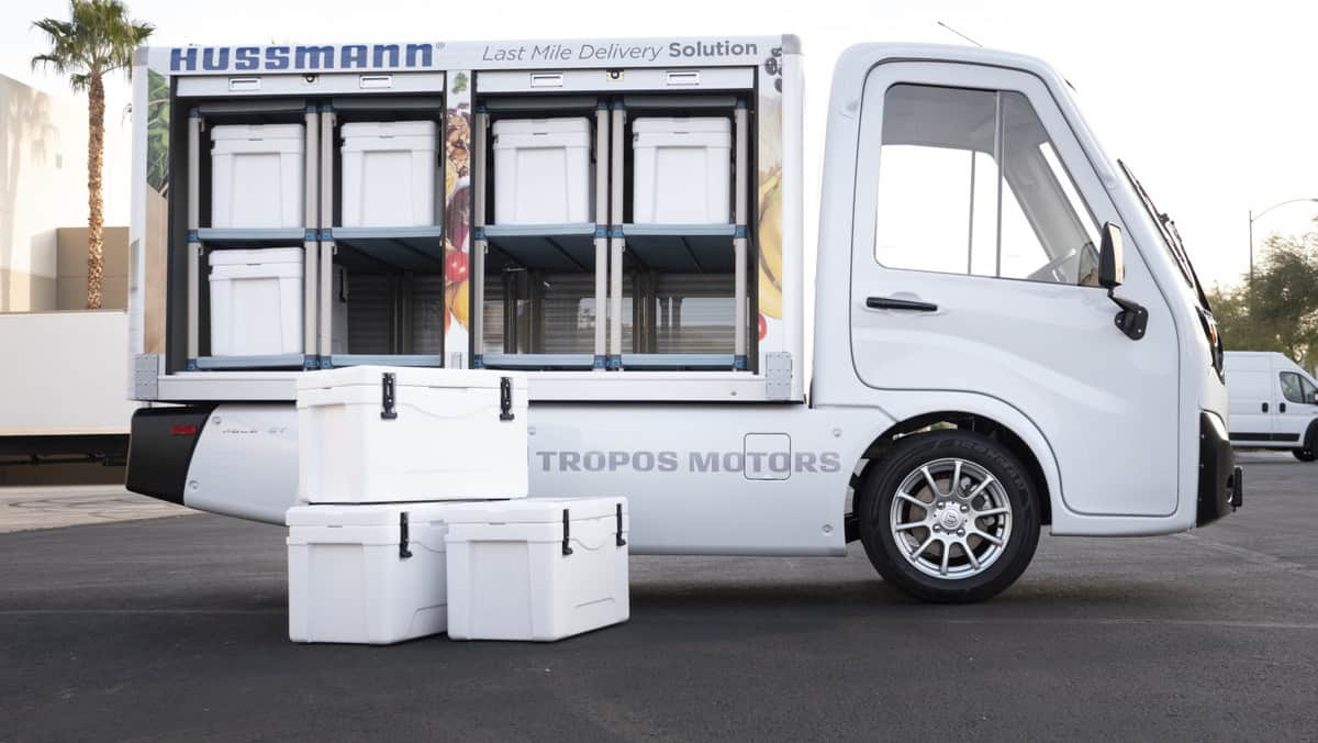 Tropos electric vehicle