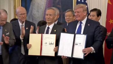 President Trump and Chinese Vice Premier Liu He