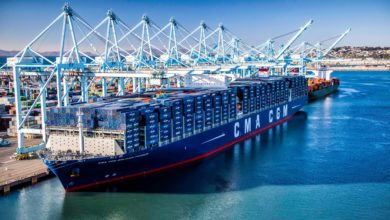 Photo of How many gallons of fuel does a container ship carry?