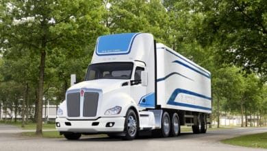 Kenworth electric truck