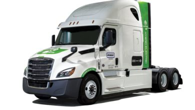 Photo of TMC20: Penske buys three Class 8 electric hybrids from Hyliion