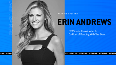 Photo of Erin Andrews to keynote at FreightWaves Live