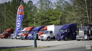 Photo of New trucks, used trucks and trailers all suffering from the same affliction