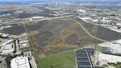 Photo of E-commerce logistics park going up next to DFW airport