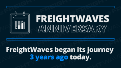 Photo of FreightWaves 3rd Anniversary