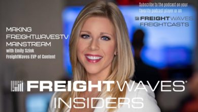 Photo of Making FreightWavesTV mainstream with Emily Szink (with video)