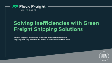 Photo of White Paper – Solving Inefficiencies with Green Freight Shipping Solutions