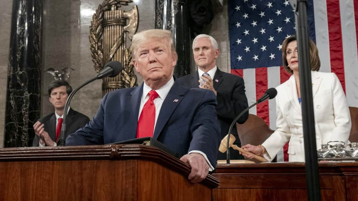 Trump Touts Trade Agreement Successes In State Of The Union