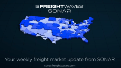 Photo of Weekly Freight Market Update from SONAR – March 15, 2020