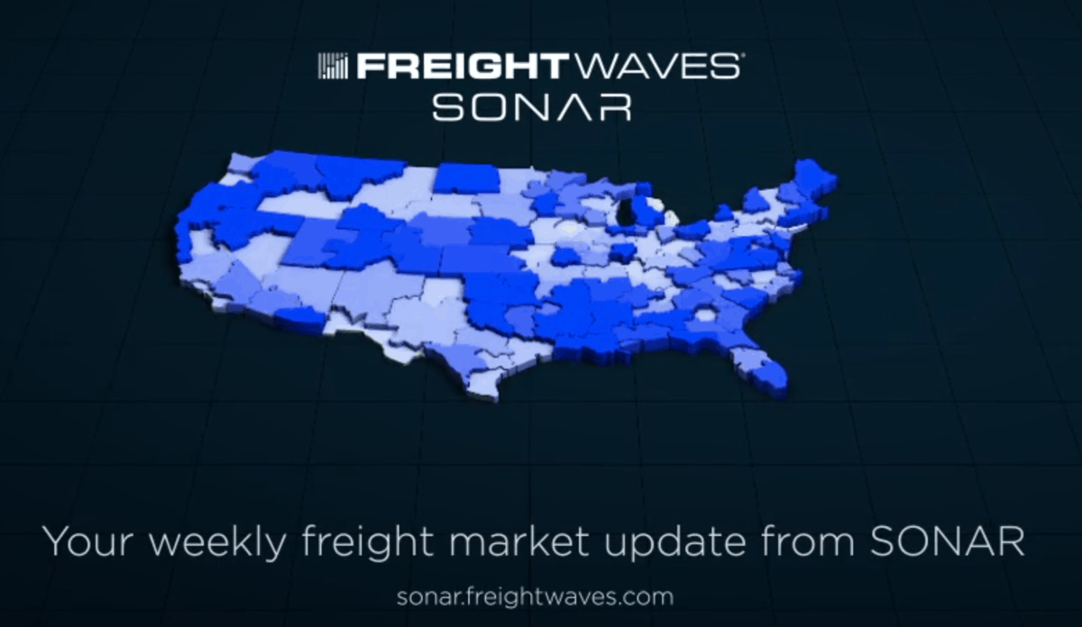 Weekly Freight Market Update from SONAR March 15, 2020