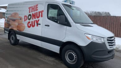 Photo of Young entrepreneur embarks on new donut journey with Freightliner van from Daimler [with video]